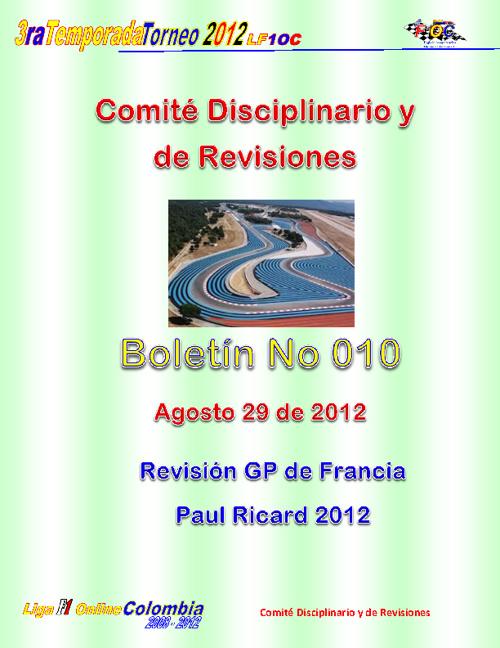 BOLETIN No 010
