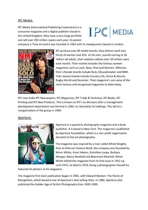 IPC Media & Aperture flipsnack