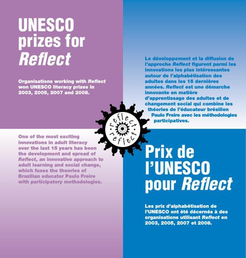 UNESCO prizes for Reflect