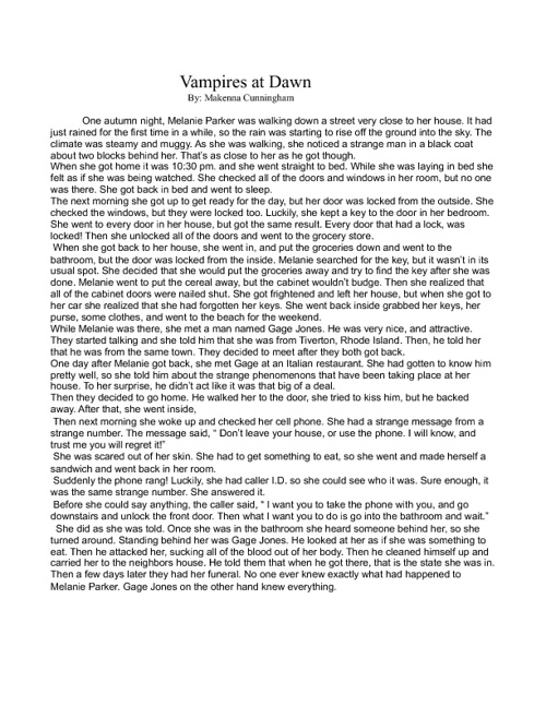 Short Stories & Poams