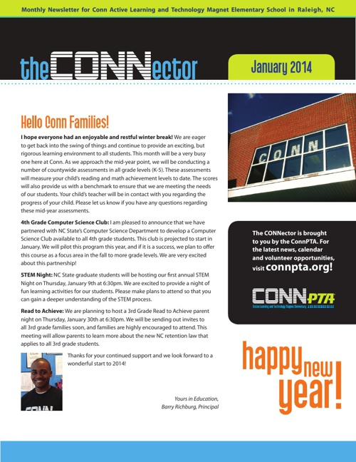 Read the January CONNector