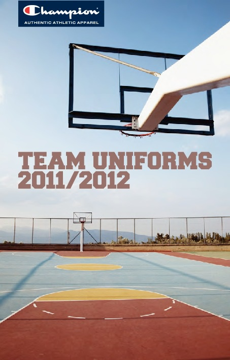 Champion Team uniforms 2011/12