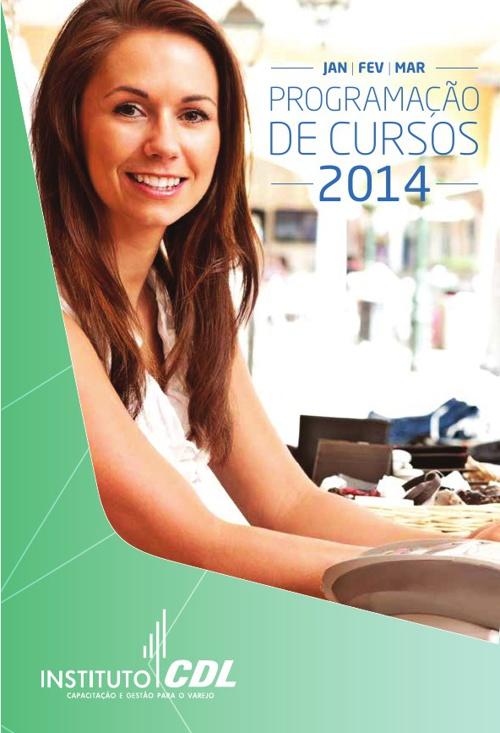 Programação Cursos 2014 - Instituto CDL