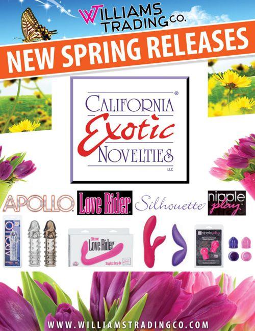 Spring 2015 California Exotic Novelties