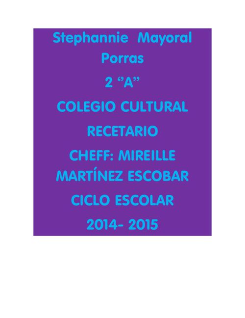 Stephannie Mayoral