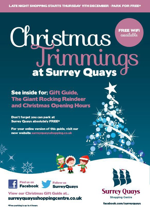 Christmas Trimmings at Surrey Quays