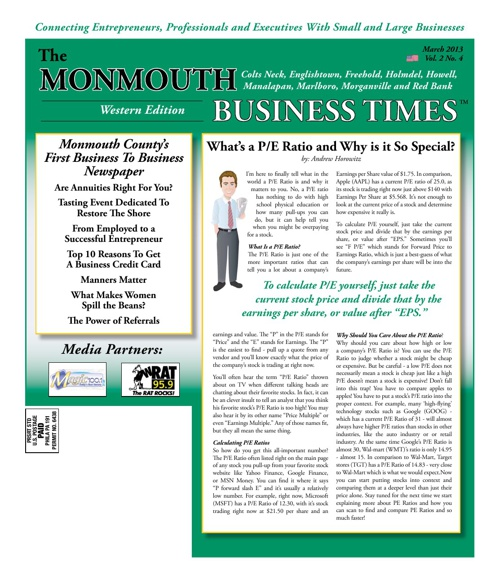 Monmouth Business Times Mar. 2013