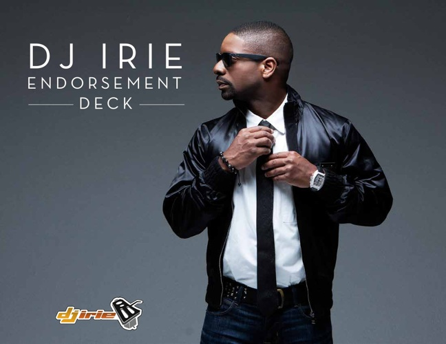 DJ Irie Endorsement Deck
