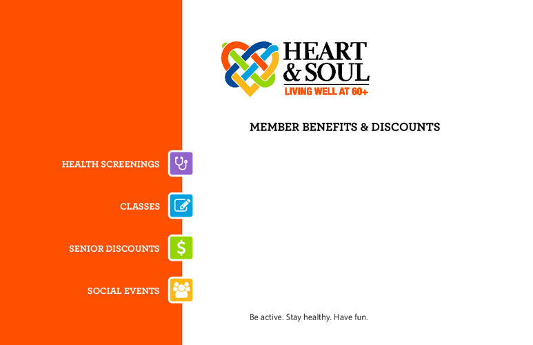 Heart & Soul Member Discount Booklet