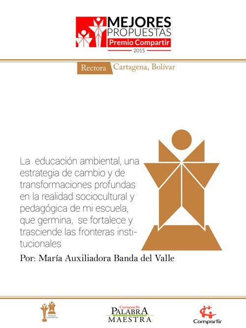 La  educación ambiental, una estrategia de cambio y de transform