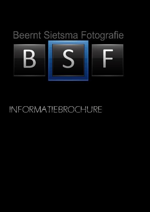 Info brochure Beernt Sietsma Fotografie