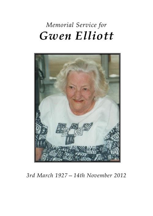Gwen Elliott