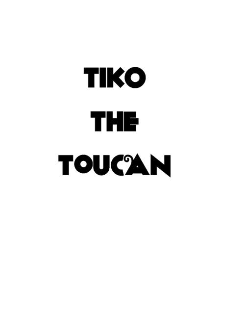Tiko the TOUCAN color