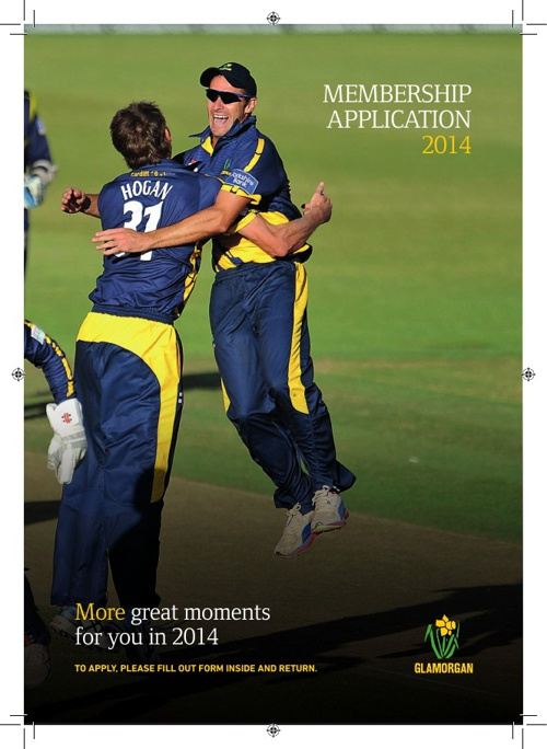 Glamorgan Cricket Membership 2014
