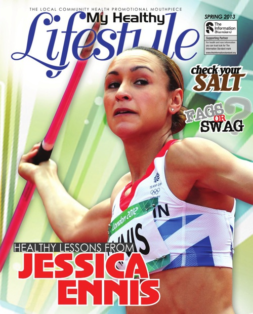 HEALTHY LESSONS FROM JESSICA ENNIS
