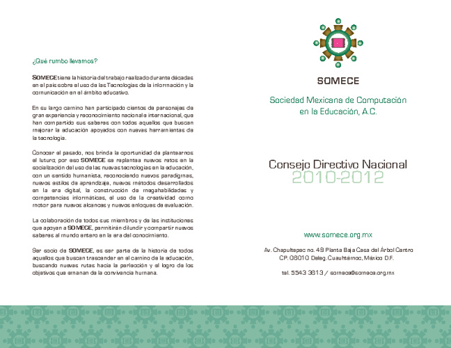 XXVIII Simposio Internacional de Computación en la Educación