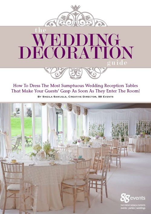 The Wedding Decoration Guide
