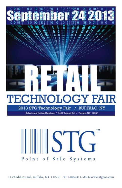 Test. STG Retail Tech Fair Program 2013