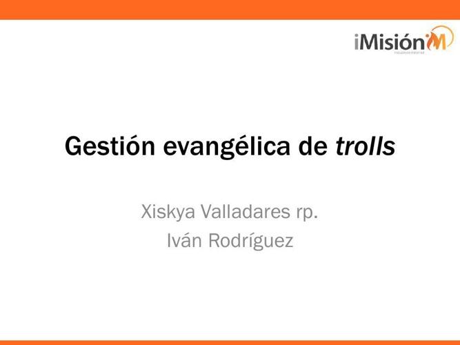 Gestión de ataques y trolls en la red – Xiskya Valladares (RP, i