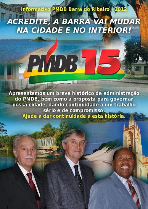 Revista - PMDB - Barra do Ribeiro