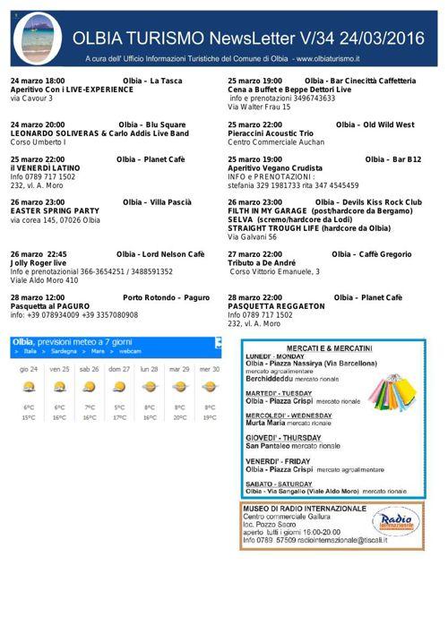 newsletter_olbiaturismo_24032016