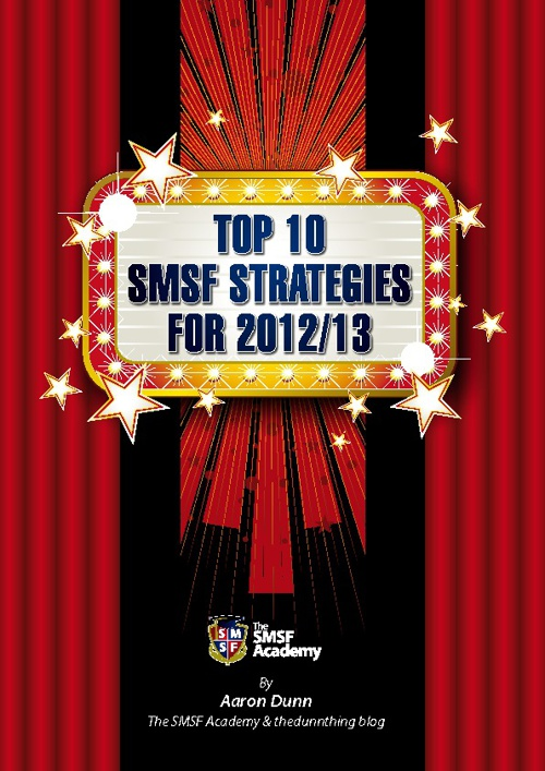Top10 SMSF strategies for 2012-13