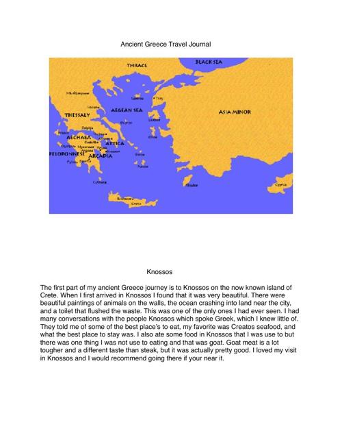 History Travel Journal