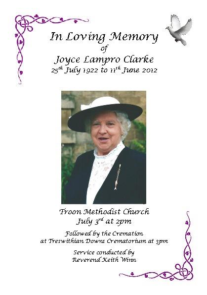 Joyce Lampro Clarke