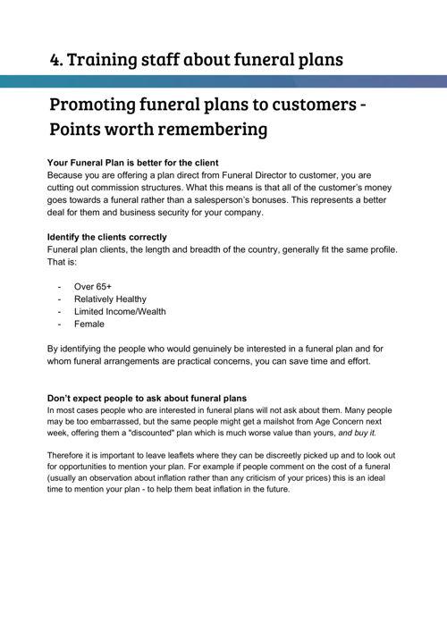Handling a Funeral