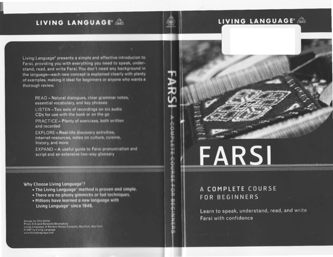 Living Language Farsi A Complete Course for Beginners - Part1