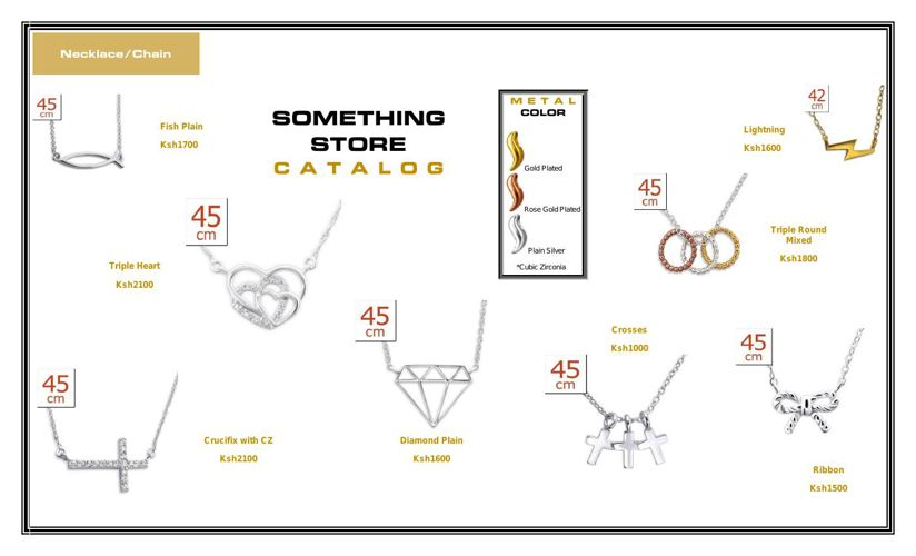 Necklace catalog