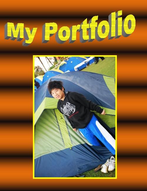 My Portfolio. Reyner. Year 5