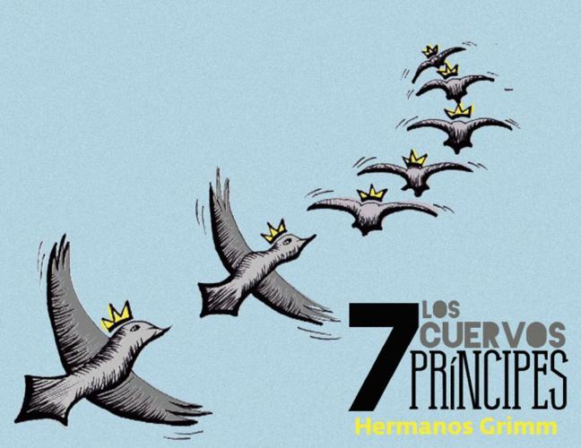 Los 7 cuervos príncipes