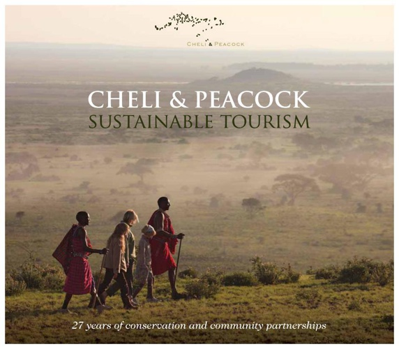 Cheli & Peacock Sustainable Tourism Brochure