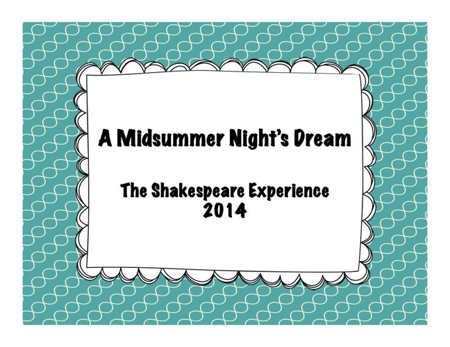 A Midsummer Night's Dream 2014