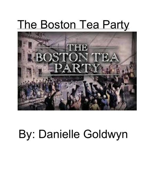 RevolutionaryWarEssay-DanielleGoldwyn