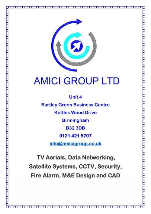 Amici Company Profile