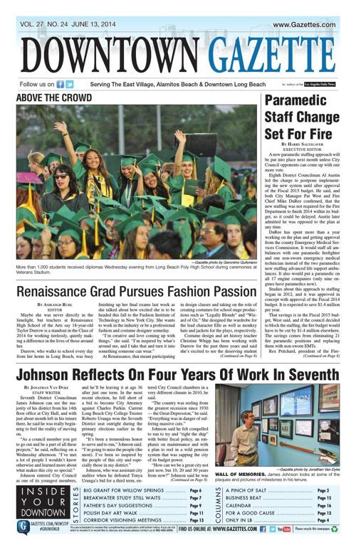 Downtown Gazette 6-13-14