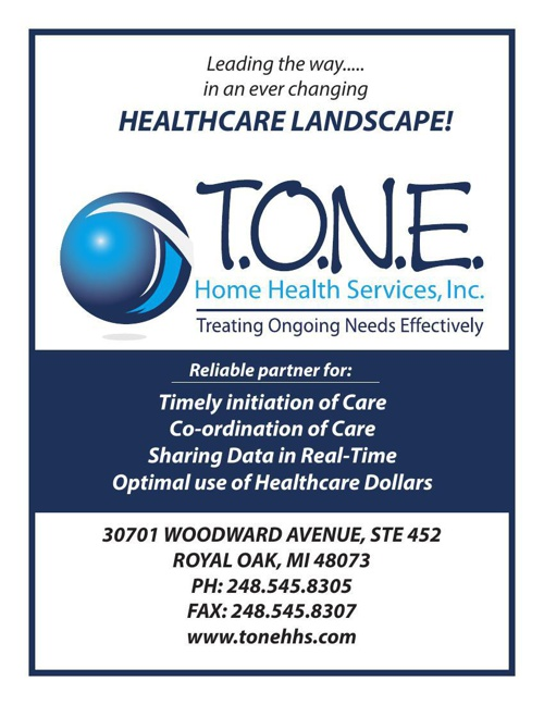 T.O.N.E. HOME HEALTH SERVICES - LEADING THE WAY
