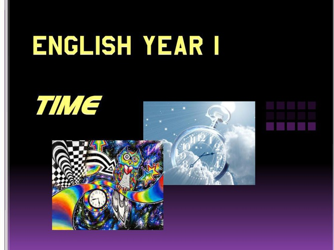 English Year 1
