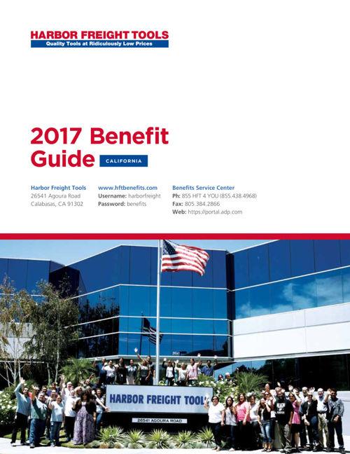 2017 HFT Benefit Guide CA FINAL