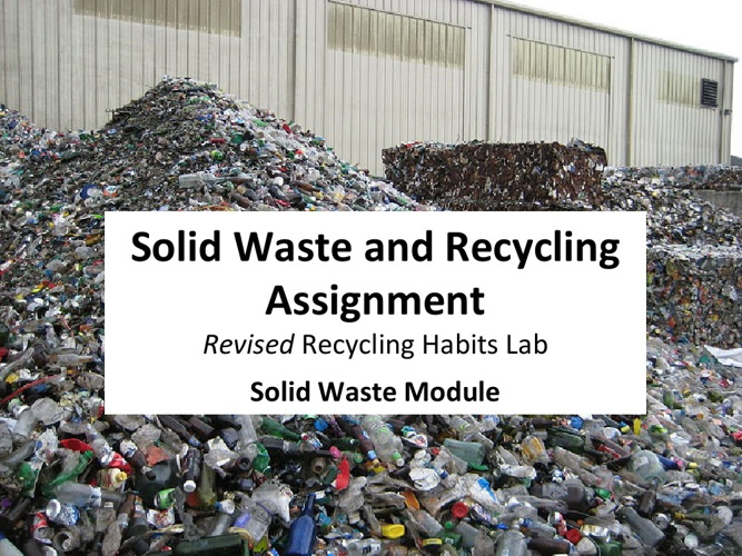 Recycling Habits Lab