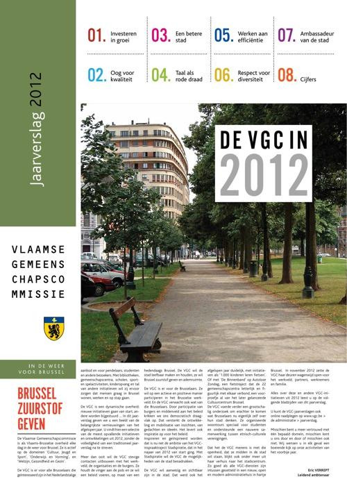 VGC Jaarverslag 2012