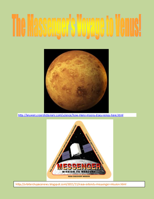 The Messenger's Voyage to Venus!