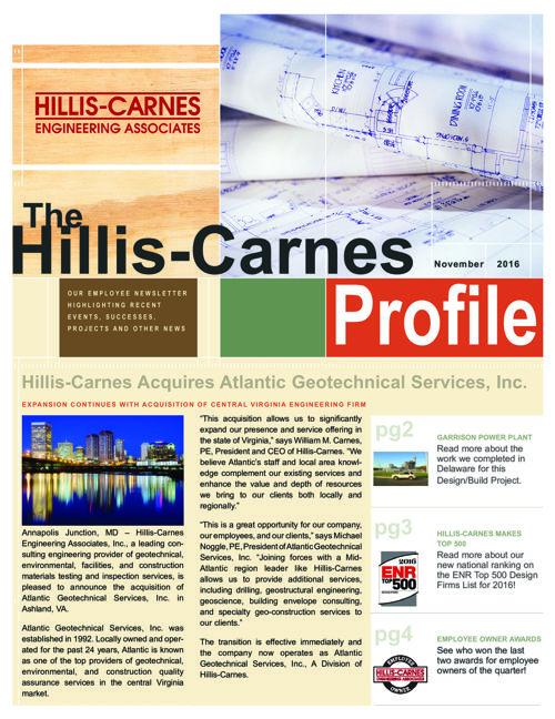 The Hillis-Carnes Profile Virtual Flip Book - November 2016 Issu