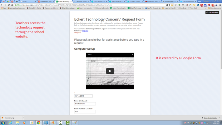 Campus Technology Form
