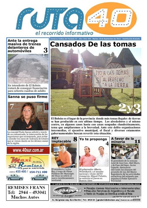 Diario Martes 18 de Septiembre