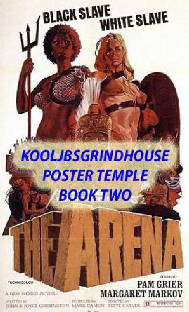KOOLJBSGRINDHOUSE POSTER TEMPLE BOOK 2