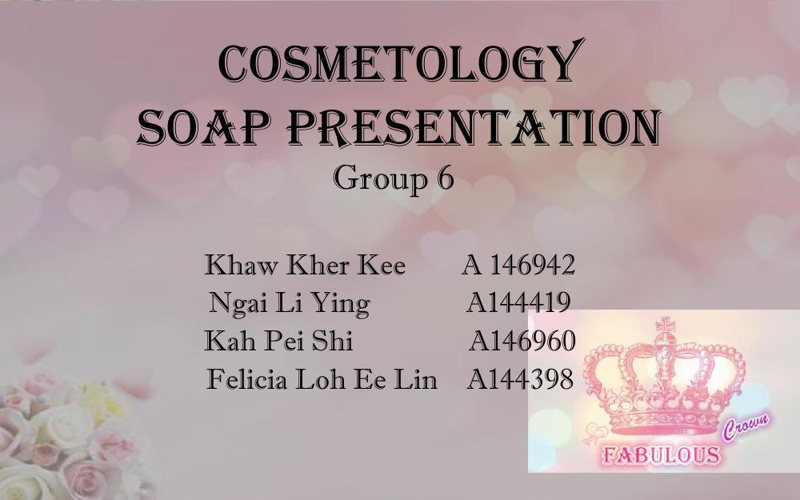 cosmeto soap presentation group 6