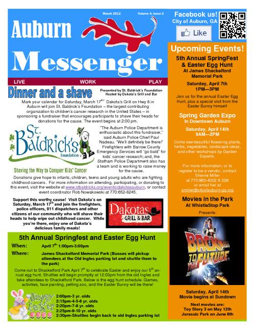 2012 Auburn Messenger